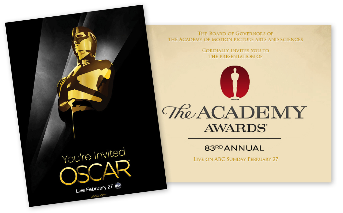 ... the reason for which red carpet was invented; the 83rd Academy Awards